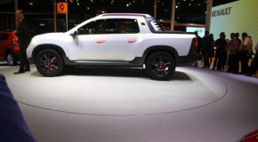 Presentation of the Duster Oroch show car in Sao Paulo