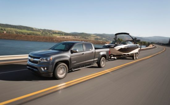 2015 Chevrolet Colorado Does More: Segment-leading horsepower, trailering delivered with class-leading efficiency