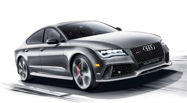 The Audi RS 7 Dynamic Edition will become Audi's top sport coupe offering when it arrives in showrooms early this summer