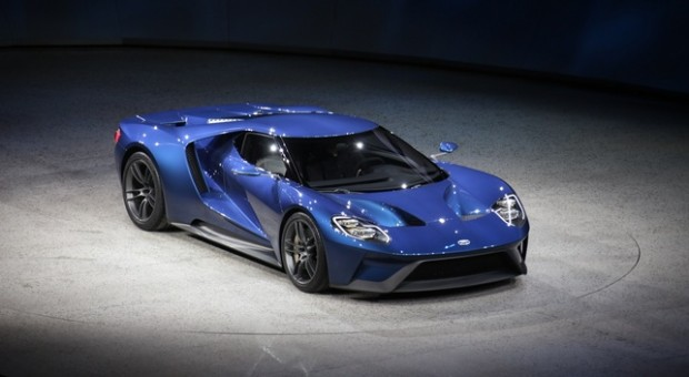 Ford Highlights New Ford GT Supercar at the 2015 Chicago Auto Show