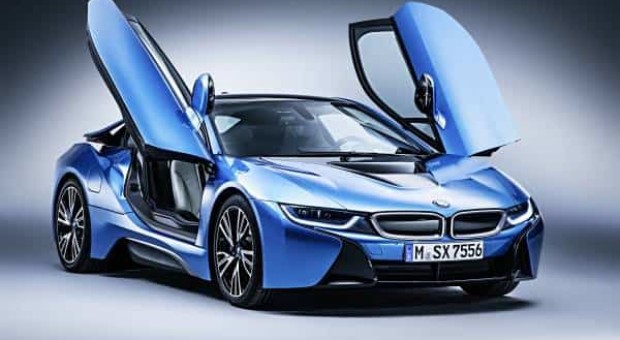 The new BMW i8 Roadster, the new BMW i8 Coupe