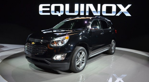 Chevrolet Reveals All New 2016 Equinox and 2015 Silverado Custom at the 2015 Chicago Auto Show