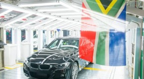 One-millionth BMW 3 Series Sedan produced at BMW South Africa's Rosslyn Plant