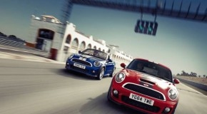 The MINI Coupé and the MINI Roadster: two athletes turn into the final straight