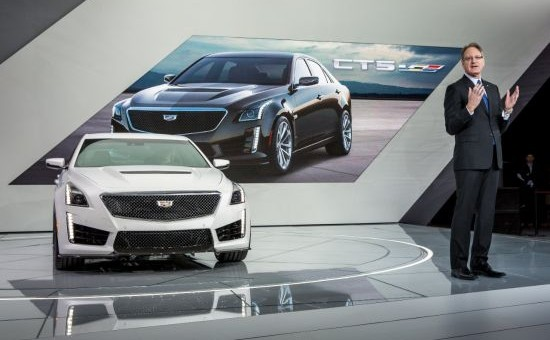 2016 Cadillac CTS-V Hits 200 mph with 640 hp