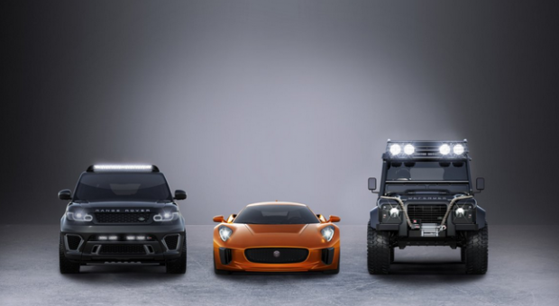 New Bond Cars Revealed. Surprise, Surprise They're All Jaguar Land Rover