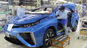 How a Future Car is Made: Behind the Scenes of Toyota 'Mirai' Production Line