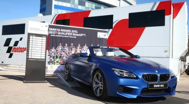 BMW M Award 2015: an exclusive BMW M6 Convertible for the top MotoGP™ qualifier