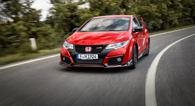 They R here! First Civic Type R models roll off the line at Honda's European manufacturing facility
