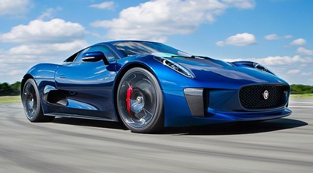 The new car of the latest James Bond movie: Jaguar's C-X75 Outshines Aston Martin
