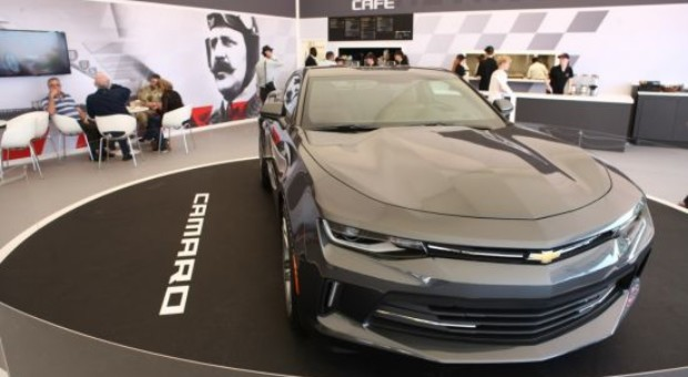 All-new Chevrolet Camaro makes European debut at Goodwood Festival of Speed