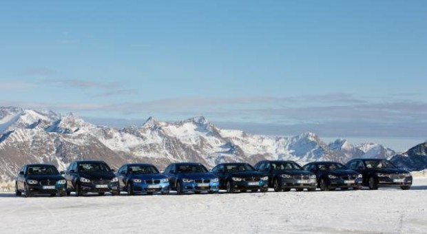 """30 years of BMW all-wheel drive:From the BMW 325i """"Allrad"""" to the BMW X5 xDrive40e"""