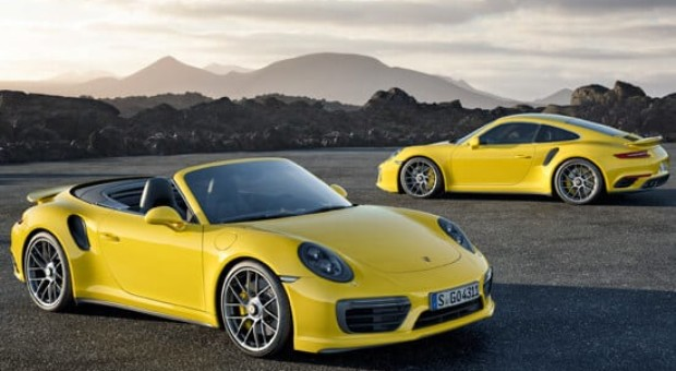 The All-New 2017 Porsche 911 Turbo and 911 Turbo S