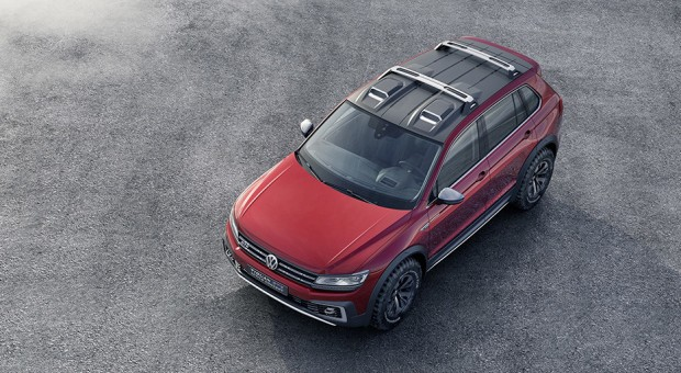 World premiere of the Volkswagen Tiguan GTE Active Concept