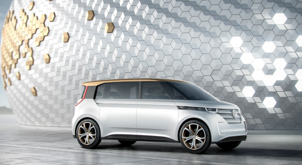 Electric Volkswagen BUDD-e Concept brings the Microbus into the 21st Century