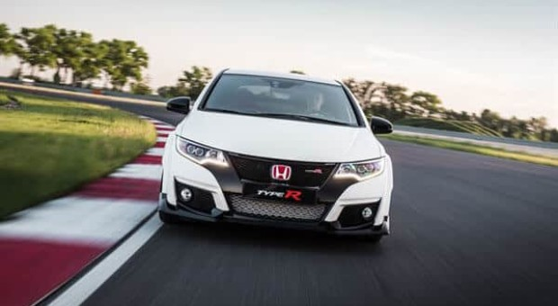 Honda's Civic Type R voted as one of the finalists in the World Performance Car of the Year award for 2016