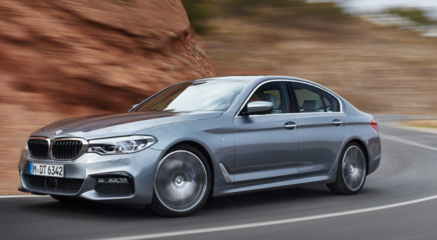The seventh generation of the BMW 5 Series Sedan