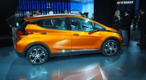 The 2017 Chevrolet Bolt electric car, Honda Ridgeline pickup and Chrysler Pacifica minivan were named 2017 North American Car, Truck and Utility Vehicle of the Year
