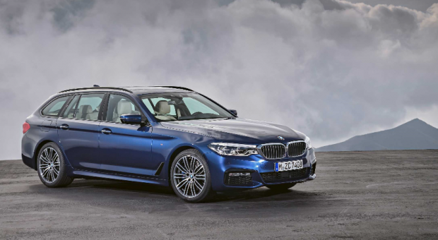 The all-new 2017 BMW 5 Series Touring
