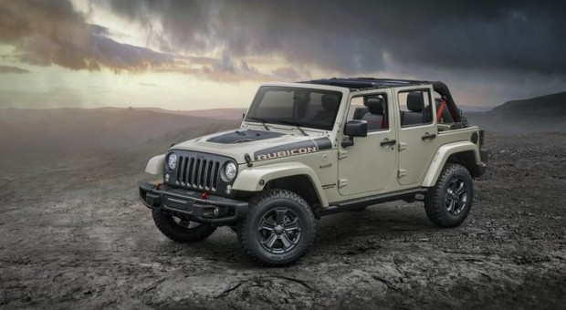 All-New 2017 Jeep Wrangler Rubicon Recon