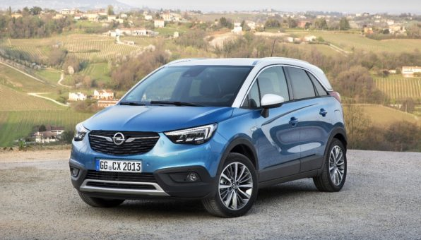 All-new Opel Crossland X