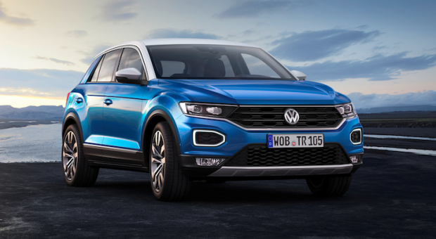 World premiere of the new T-Roc: Volkswagen T-Roc, the 4th Volkswagen's SUV