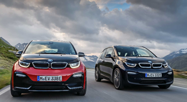 The new BMW i3, the new BMW i3s