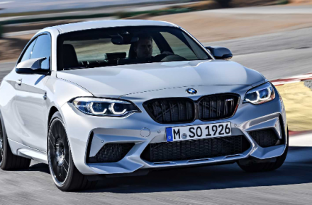 The all-new BMW M2 Competition