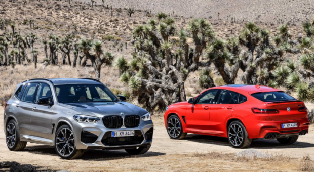 The all-new BMW X3 M and the all-new BMW X4 M