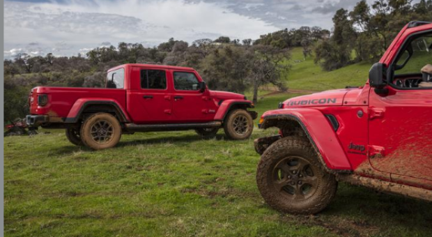 All-new 2020 Jeep Gladiator has masculine style