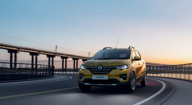Renault Triber, brand-new, spacious and ultra-modular car!