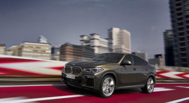 The all-new BMWX6