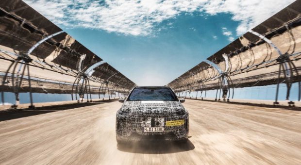 The BMW iNEXT in the hottest phase of its series development