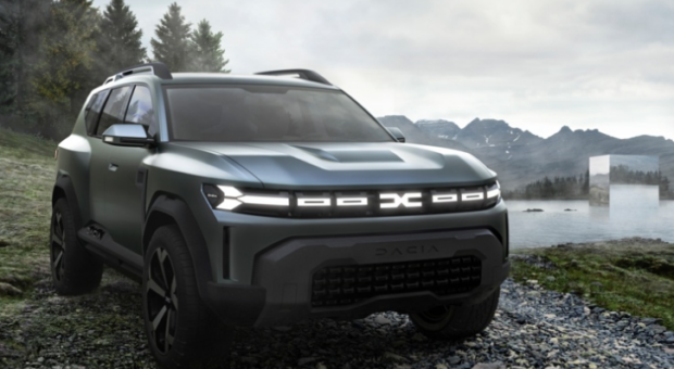 Bigster Concept: Dacia enters the C-Segment with an outdoorsy touch of coolness