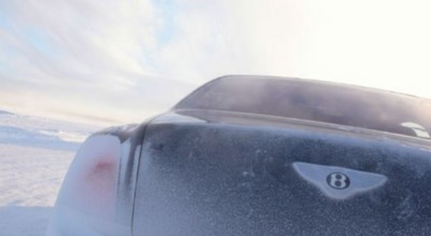Bentley Driving Experience 'Power on Ice'