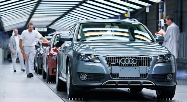 Boom in Audi production – Audi has 13 production starts planned in 2011, including the new A6 in Neckarsulm and Audi Q3 in Martorell
