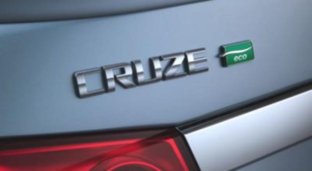 Chevrolet Cruze Improves Fuel Economy for 2012
