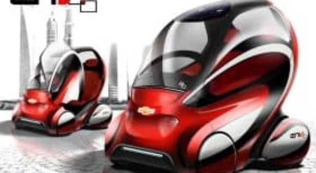 GM Shows Chevrolet EN-V 2.0 Mobility Concept Vehicle