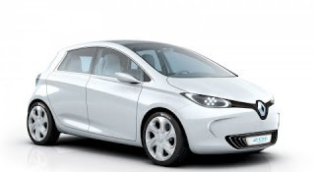 2012 Paris Motor Show – Renault – Renault Zoé