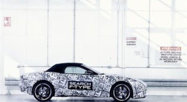 Jaguar F-Type debut on Paris Motor Show next Thursday (Thursday 27th September)