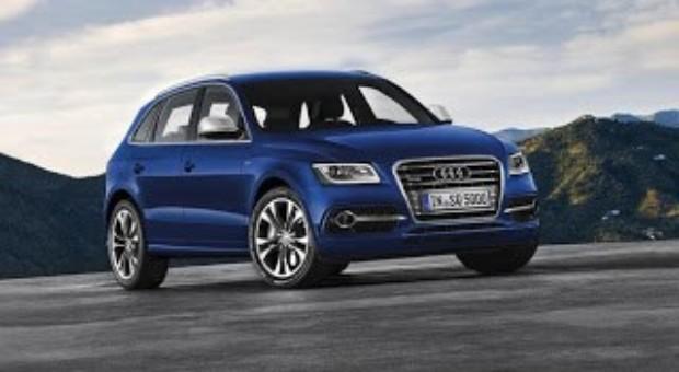 2012 Paris Motor Show – SQ5 TDI Audi exclusive concept in Paris
