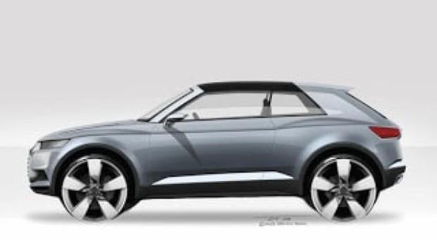 2012 Paris Motor Show – All-new Audi crosslane coupé concept car