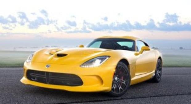 Chrysler Group Announces Pricing for 2013 SRT Viper Models