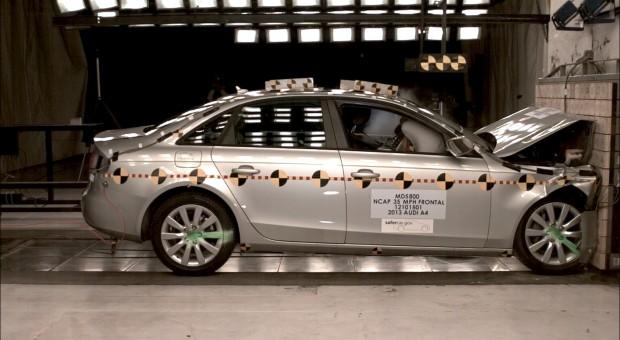 2013 Audi A4, S4 earn 5-star federal crash test rating