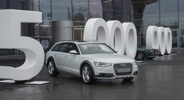 Five million Audi quattro drive systems