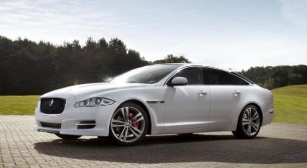 New Jaguar XJR sports saloon