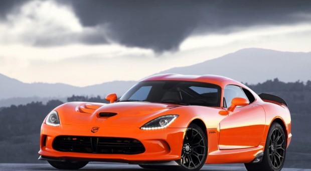 2014 SRT Viper TA in Crusher Orange