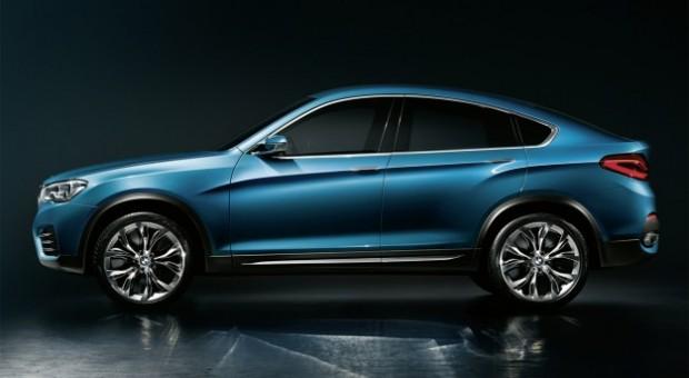 2014 BMW X4 Concept unveiled