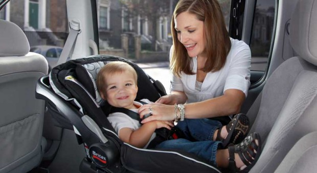 Infant car seat correct position !
