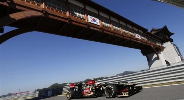 Podium lock out for Renault power in Korean Grand Prix